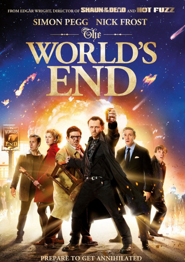 'The World's End' movie poster