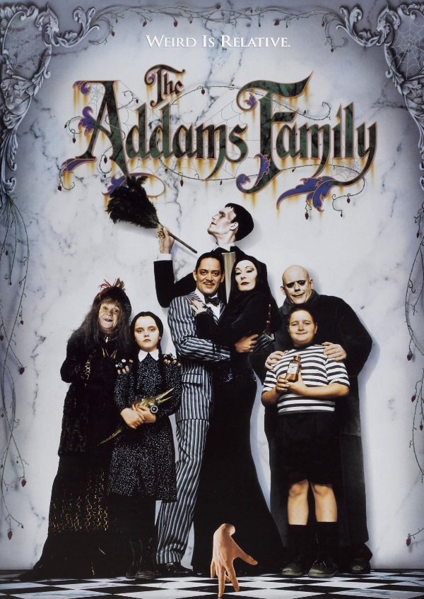 'The Addams Family' movie poster