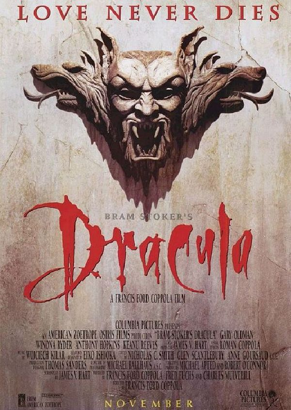 'Bram Stoker's Dracula' movie poster