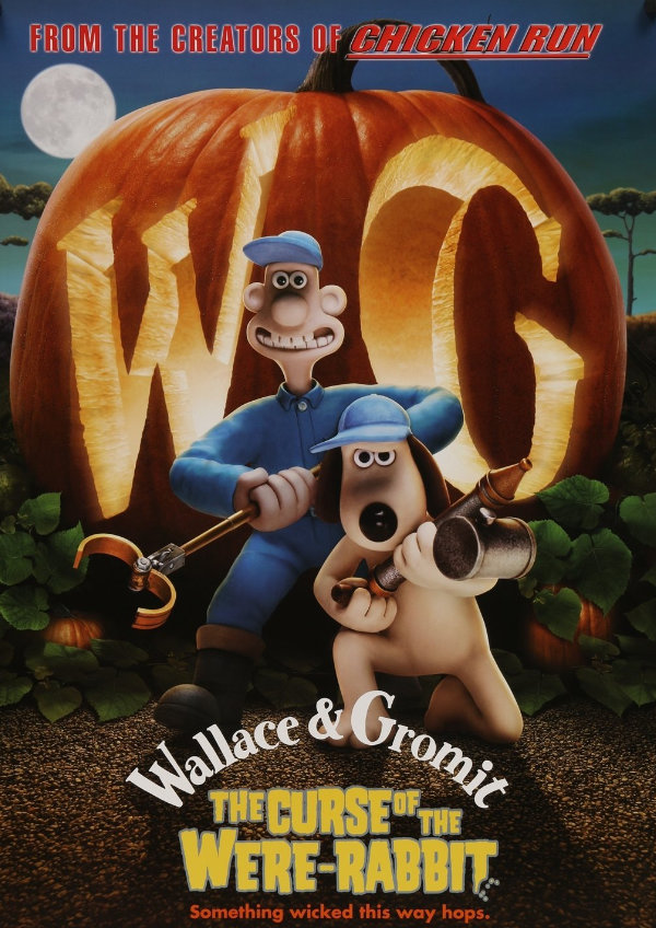 'Wallace & Gromit: The Curse of the Were-Rabbit' movie poster