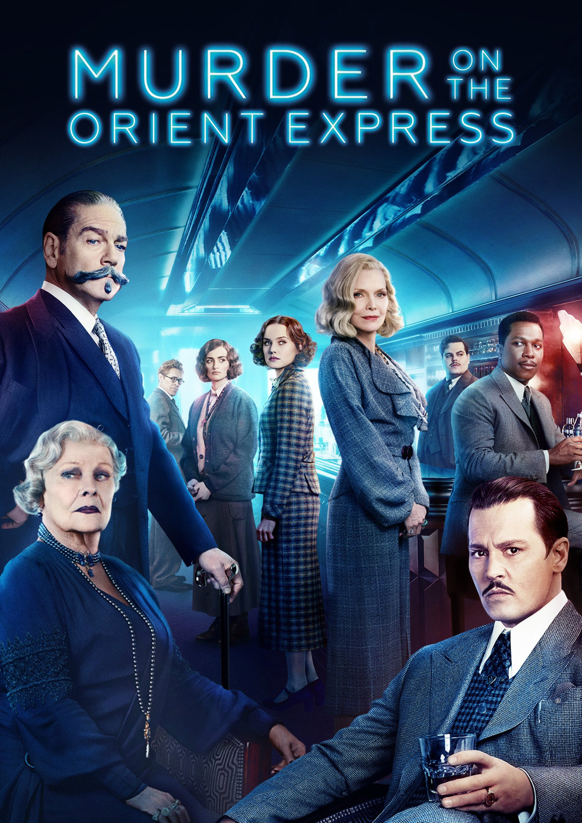 'Murder On The Orient Express' movie poster