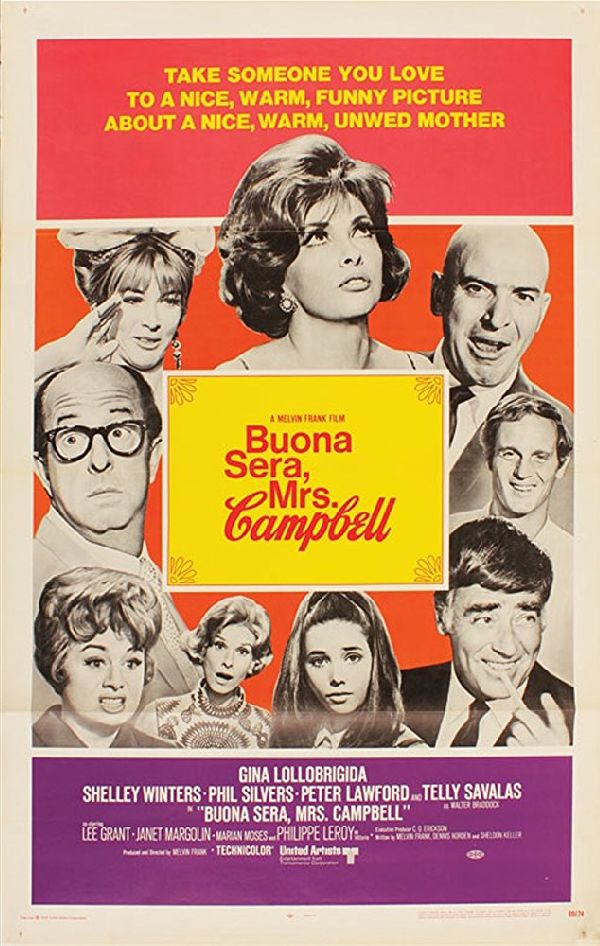 'Buona Sera, Mrs. Campbell' movie poster