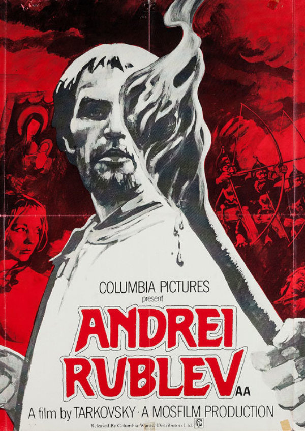 'Andrei Rublev' movie poster
