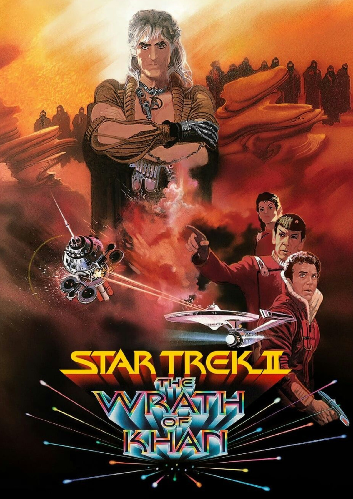 'Star Trek II: The Wrath Of Khan' movie poster